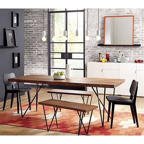 Cb2 Kitchen Table 36 Quot Quot X80 Quot Quot Dining Table Dhurrie Rugs Furniture And Mini Bars