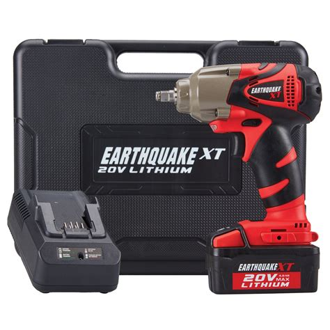 earthquake xt cordless impact review new harbor freight cordless tools lithium 20v earthquake