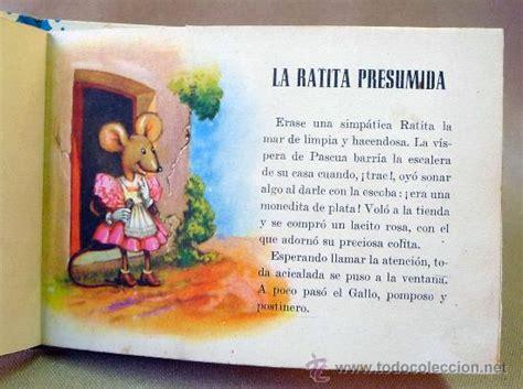 la ratita presumida cuentos infantiles cuento infantil la ratita presumida editorial comprar libros de cuentos en todocoleccion
