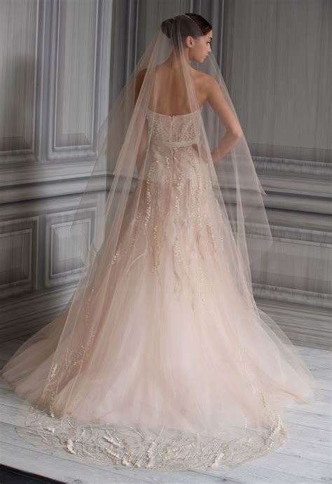 1000  ideas about Blush Wedding Gowns on Pinterest   Blush