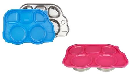 Inno Baby Din Din Smart Stainless Divided Plate din din smart stainless divided platter asibayi