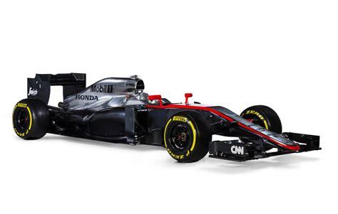 formula one honda mclaren reveals honda powered mp4 30 2015 formula one car