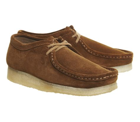 wallabee shoes for clarks wallabee shoes in brown for lyst
