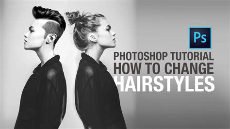 Change Hairstyle Photoshop by Photoshop Tutorial How To Change Hairstyles This Design