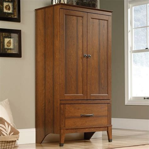 Sauder Palladia Armoire Cherry by Sauder Carson Forge Armoire In Washington Cherry 415107