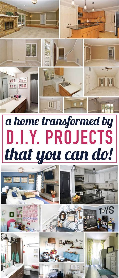 diy home decor projects tour my home of diy home decor projects