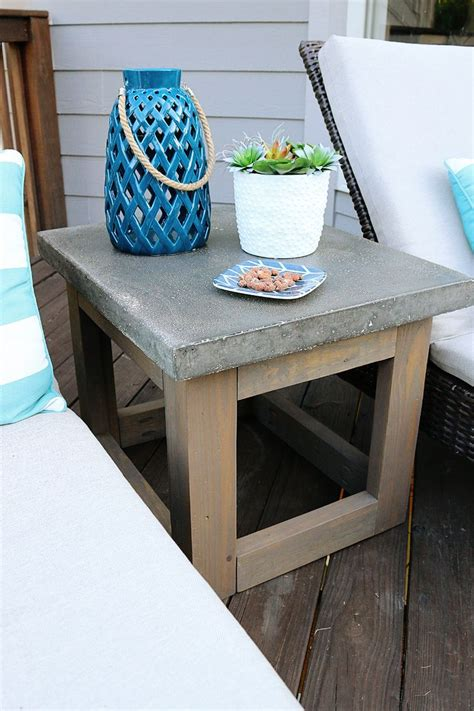 outdoor side table ideas best 25 outdoor side table ideas on rustic