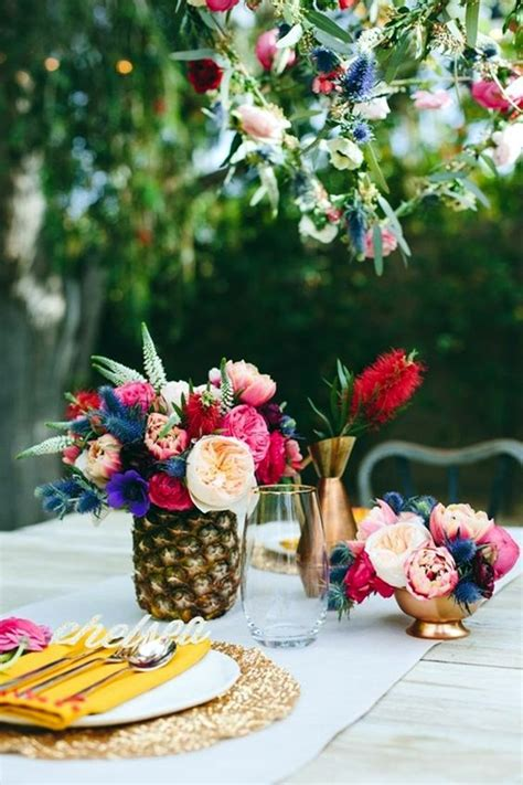 hawaiian table decorations ideas 40 affordable and creative hawaiian party decoration ideas