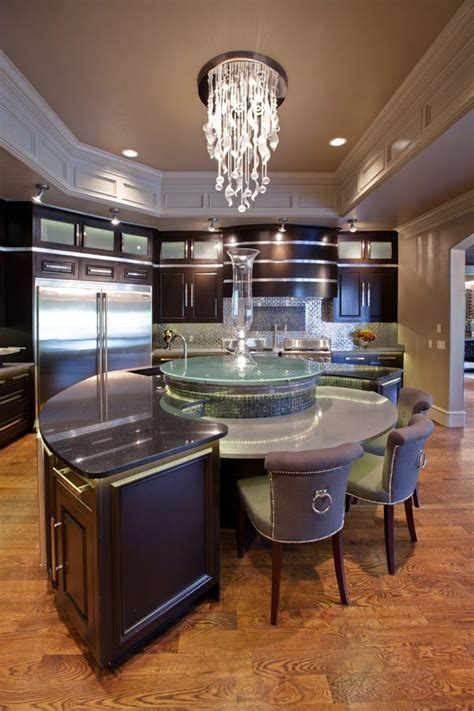 round kitchen island designs round kitchen island charisma design home pinterest