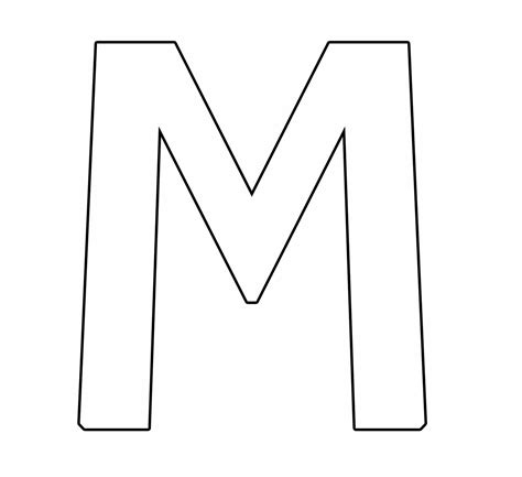 moldes de letra m letra m imagens whatsapp