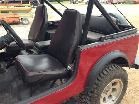 Jeep Cj7 Seats Jeep Cj7 Seats Used
