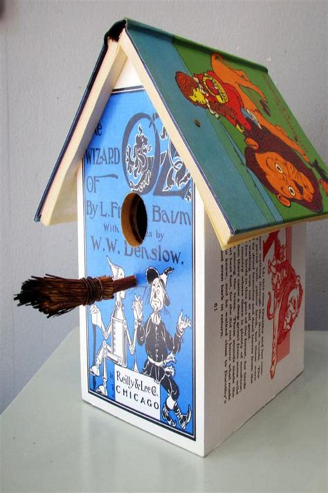 wizard of oz home decor wild wings literary lodgings wizard of oz birdhouse from