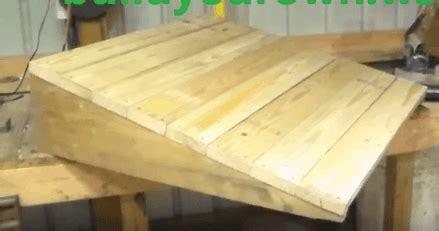 build  shed ramp simple step  step tutorial