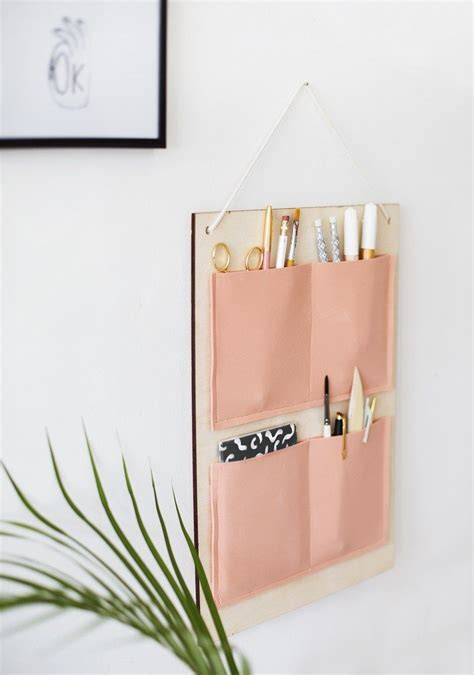 Wall Hanging Desk Organizer Keep Your Work Space Neat By A Simple Diy Desk Organizer The Home Office