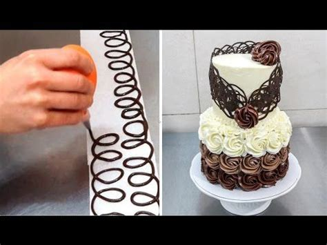 Chocolate Lace Decoration by 25 Best Ideas About Chocolate Lace Cake On Chocolate Decorations Chocolate Flowers