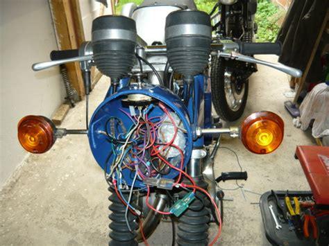 Motorrad Elektrik Verlegen by Ts 250 1