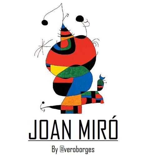 Imagenes Surrealistas De Joan Miro   joan mir 243 surrealismo y abstracci 243 n arte taringa