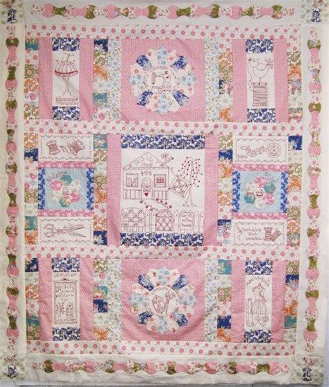 with needle and thread quilt pattern by fig n berry