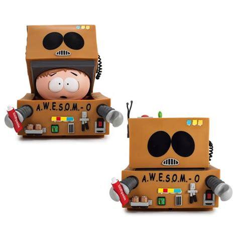 o figure south park cartman awesom o vinyl figure kidrobot