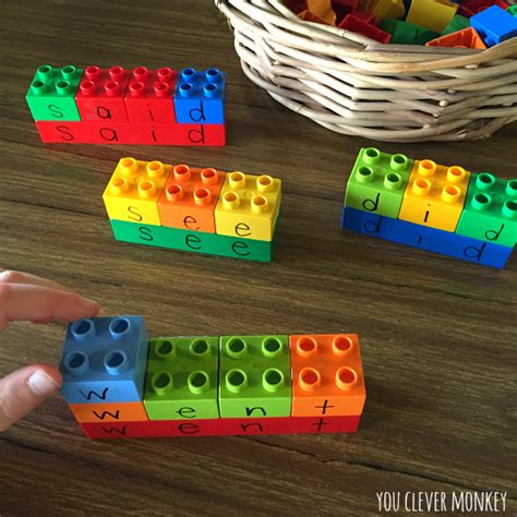 learning letters with lego you clever monkey