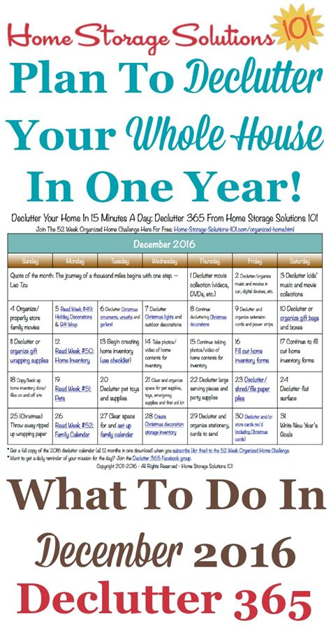 cluttered mess to organized success workbook declutter and organize your home and with 100 checklists and worksheets plus free downloads books december declutter calendar 15 minute daily missions for