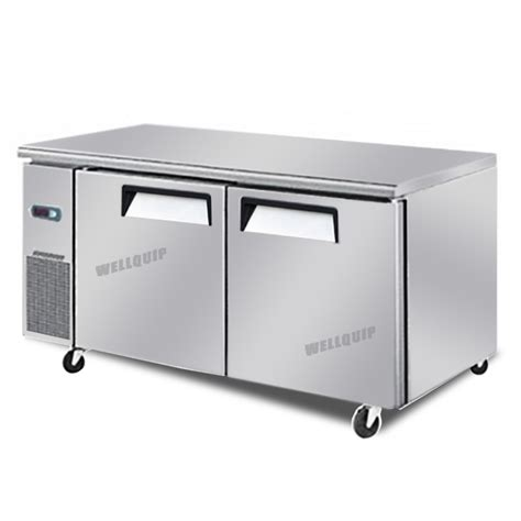 commercial kitchen benches buy commercial 2 door commercial kitchen working bench fridge quipwell wa1278 online