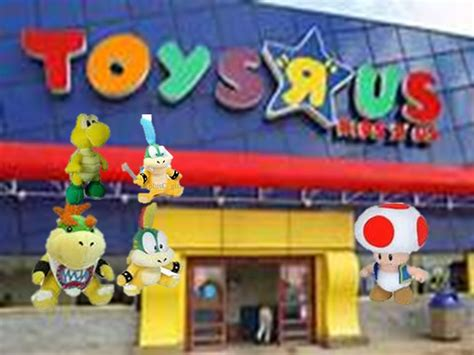 toys r us si鑒e social nn1121 bowser junior goes to toys r us