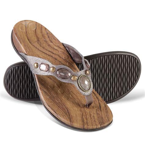 sandals plantar fasciitis the s plantar fasciitis sparkling sandals hammacher