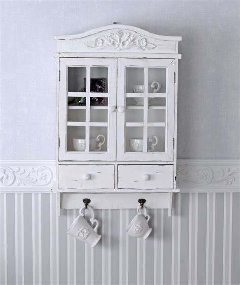 shabby chic wall cupboard vintage wall cupboard white wardrobe shabby chic hanging display cabinet