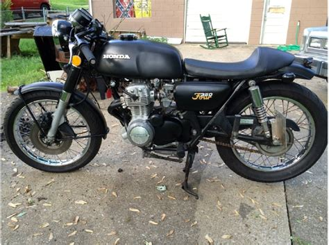 1973 honda cb350 cafe project original parts no reserve 1973 honda cb 350 four motorcycles for sale