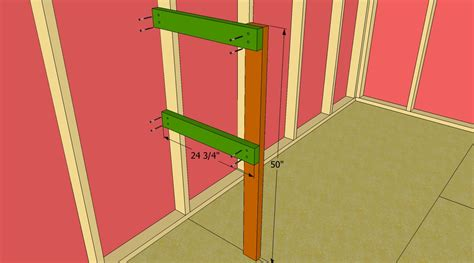 How To Build A Shelf In A Shed by How To Build Shed Shelves Howtospecialist How To Build