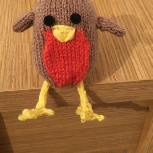knitting pattern christmas robin christmas robin knitting pattern by knitables knitting