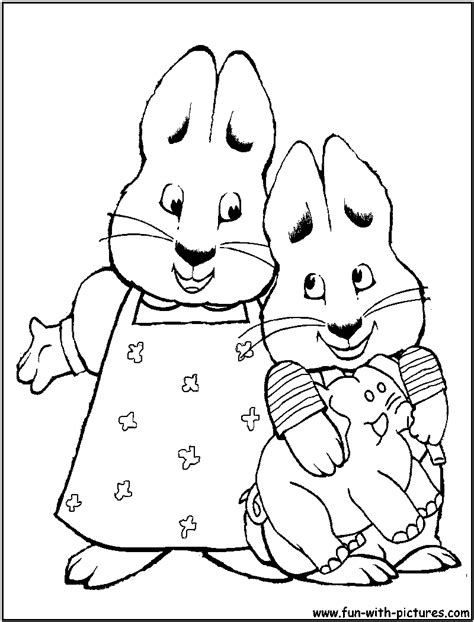 max and ruby printable coloring pages az coloring pages
