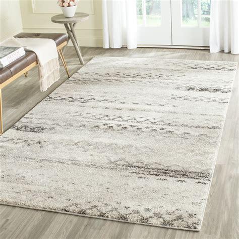 cream gray area rug wayfair