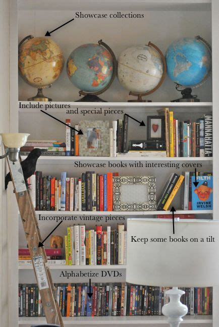 how to organize decorate book shelves organize it