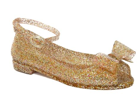 Glitter Jelly Shoes pine glitter sparkly summer jelly sandals uk