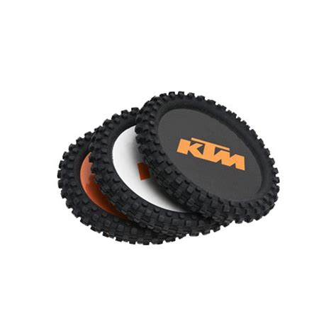 Ktm Parts Oem Dirt Bike Ktm Oem Parts Knobby Coaster Set Motosport