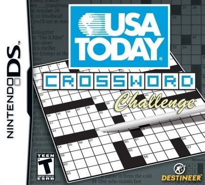 usa today crossword up and down usa today crosswords ds game