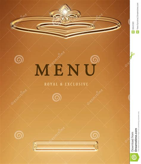 design cover menu restaurant menu icon stock image image 35641081