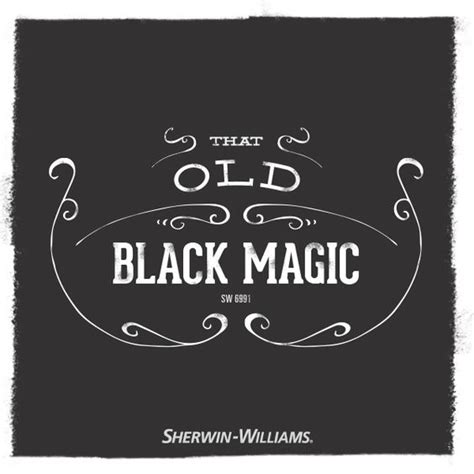 sherwin williams neutral paint color black magic sw 6991 colorful thoughts paint color