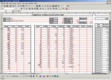 sprinkler hydraulic calculation software on demand