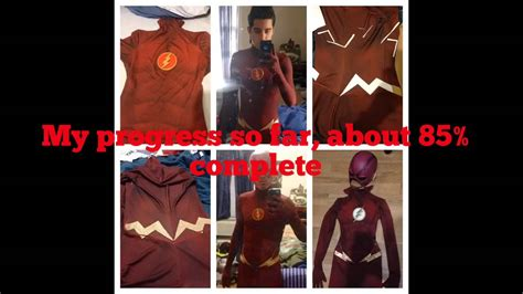 tutorial for flash the flash cosplay tutorial youtube