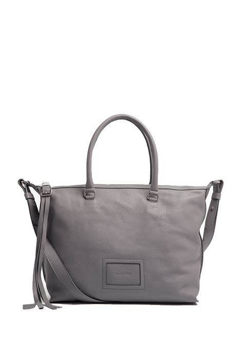 Tote Bag By see by chlo 233 alix crossbody leather tote bag in silver lyst