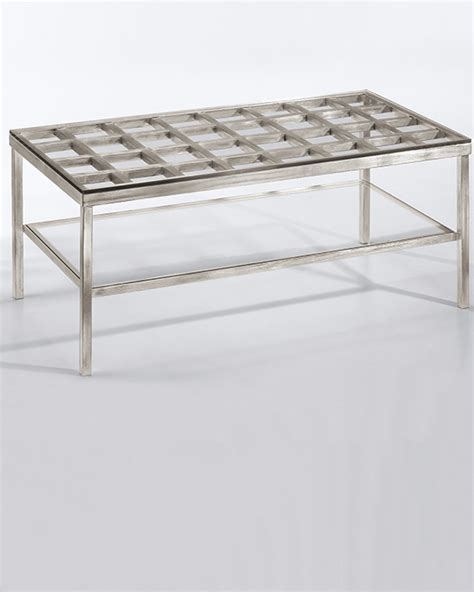coffee tables ideas modern glass and silver coffee table