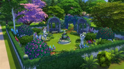 the sims 4 garden stuff objects overview