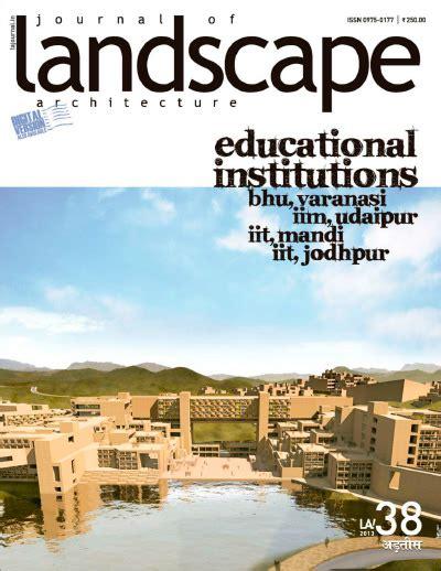 Landscape Journal Journal Of Landscape Architecture No 38 187 Digital