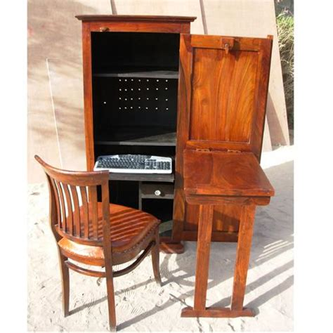 computer armoire with fold out desk adjustable folding laptop table hutch computer desktop