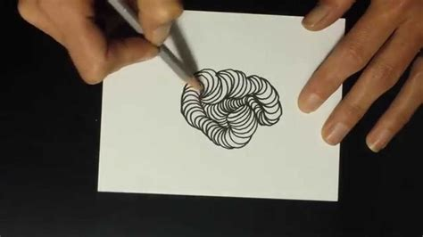 Zentangle Pattern Youtube | wormholes zentangle pattern tutorial youtube