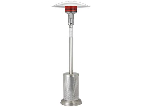 Sunglo Patio Heaters Sunglo Stainless Steel Infrared Portable Propane Heater A270ss
