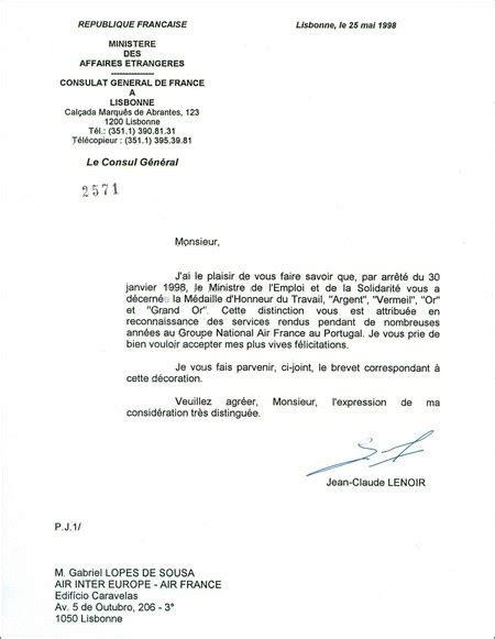 Modèle Lettre De Garantie Visa sle cover letter model de lettre a monsieur le consul